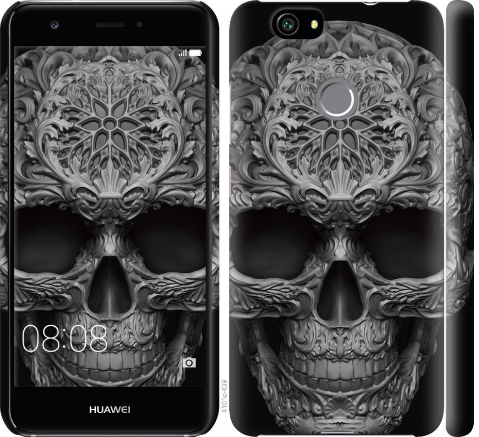 Чехол на Huawei Nova skull-ornament