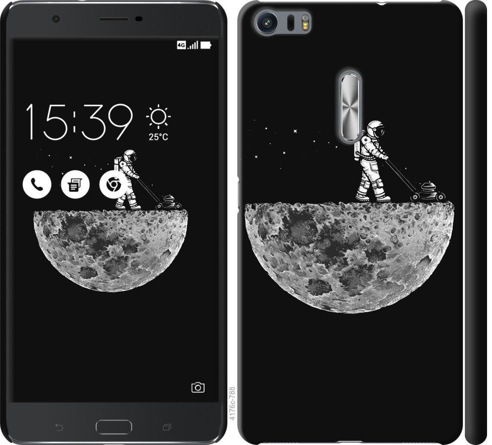 Чехол на Asus Zenfone 3 Ultra ZU680KL Moon in dark