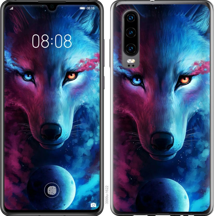 Чехол на Oppo Find X2 Арт-волк