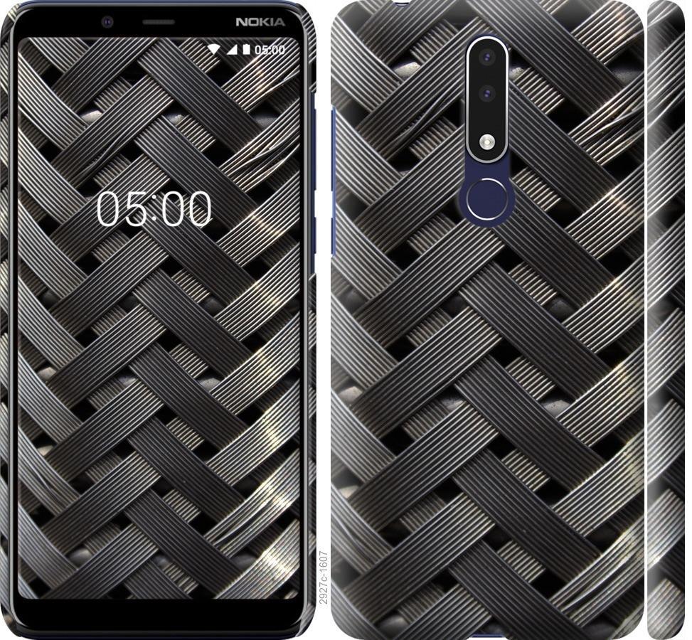 Чехол на Nokia 3.1 Plus Металлические фоны