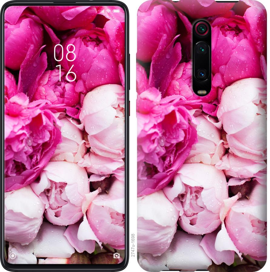 Чехол на Oppo A9 2020 Розовые пионы