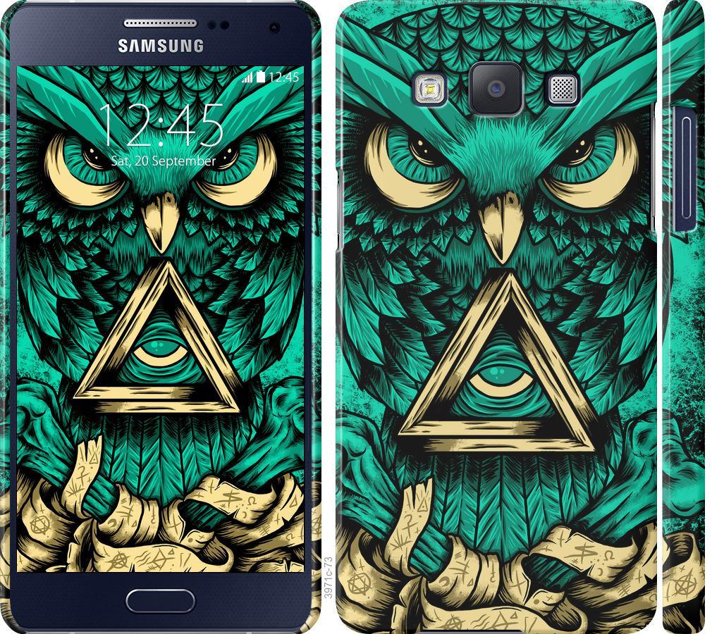 Чехол на Samsung Galaxy A5 A500H Сова Арт-тату