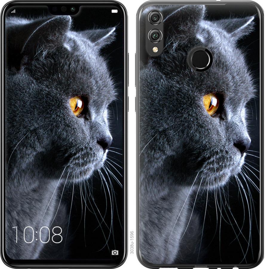 Чехол на Realme 3 Красивый кот