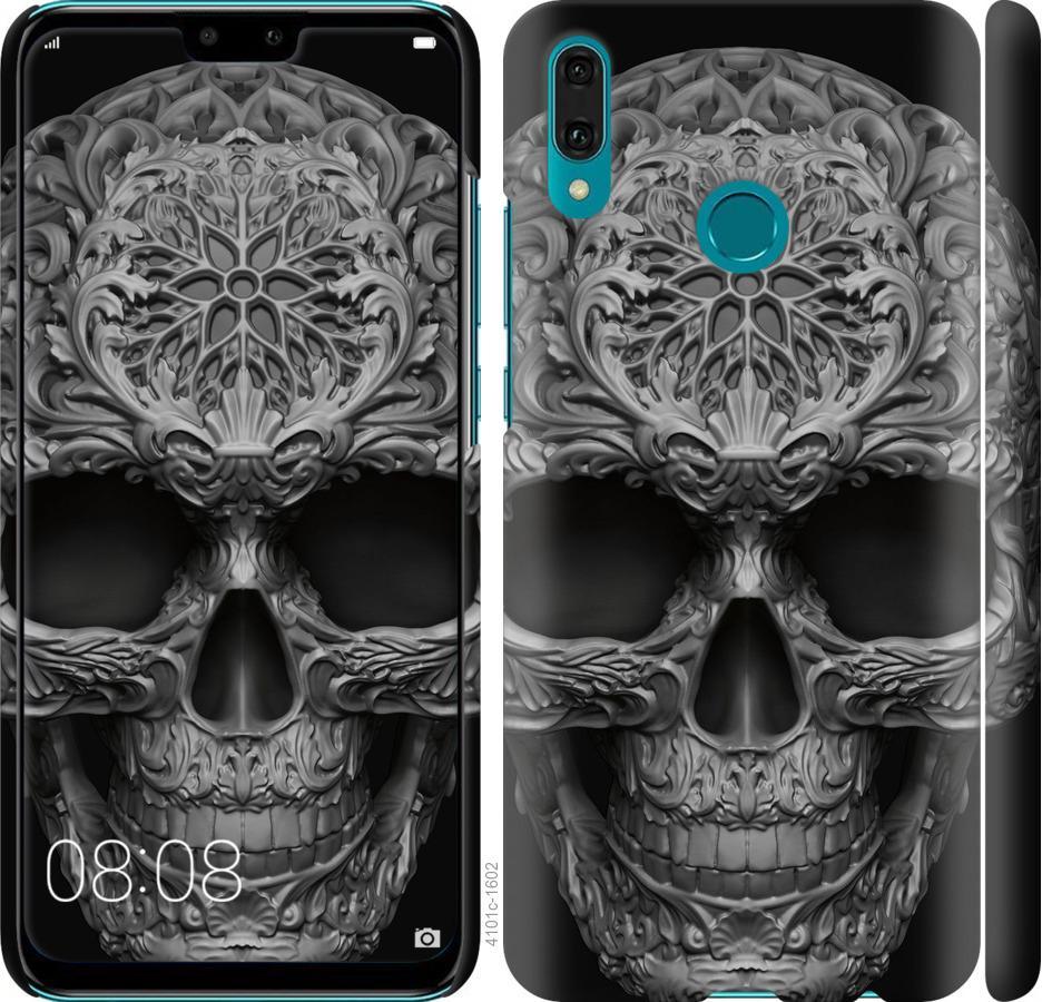 Чехол на Huawei Y9 2019 skull-ornament