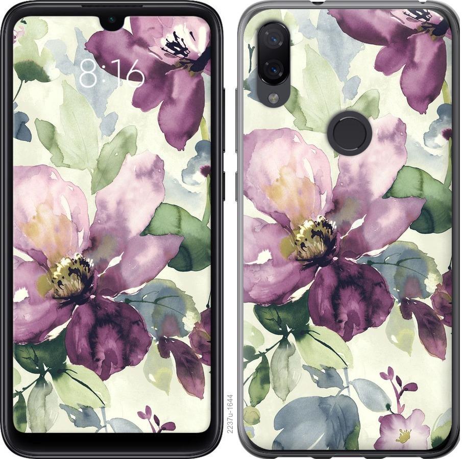 Чехол на Xiaomi Mi Play Цветы акварелью