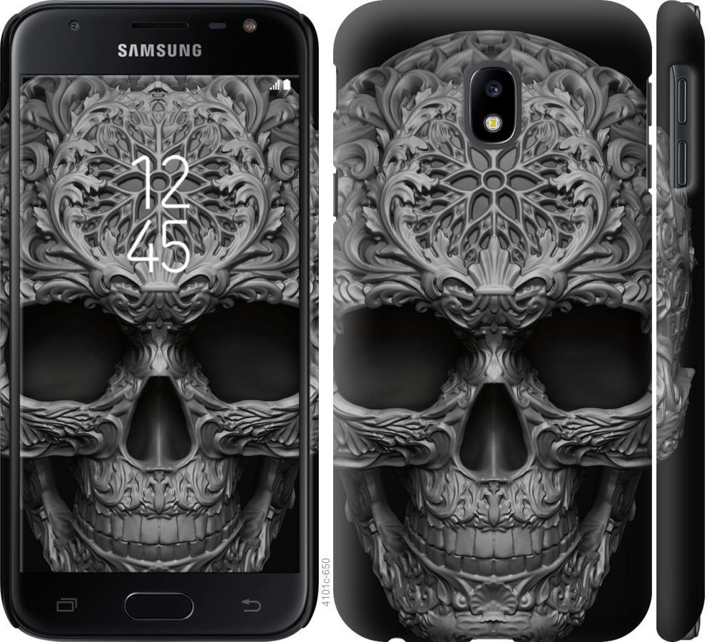 Чохол на Samsung Galaxy J3 (2017) skull-ornament