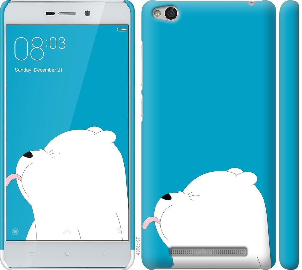 Чехол на Xiaomi Redmi 3 Мишка 1