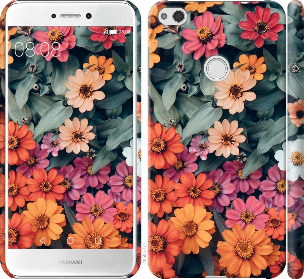 Чехол на Huawei P8 Lite (2017) Beauty flowers