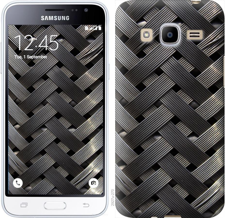 Чехол на Samsung Galaxy J2 (2016) J210 Металлические фоны