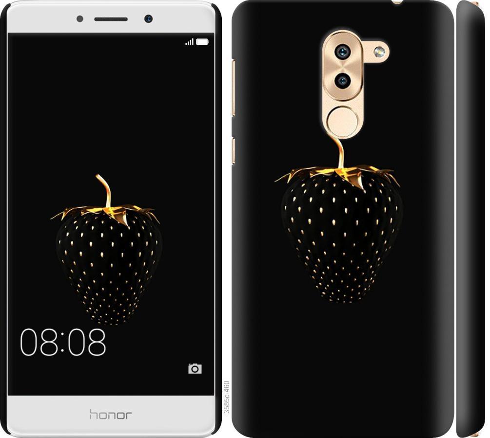 Чехол на Huawei GR5 2017 Черная клубника