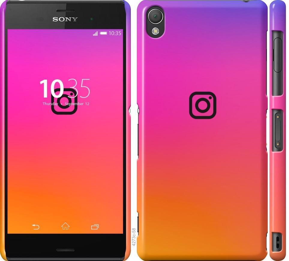 Чехол на Sony Xperia Z3 D6603 Instagram