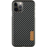 "Карбоновая накладка G-Case Dark series для Apple iPhone 12 Pro / 12 (6.1"")"