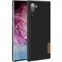 Карбоновая накладка G-Case Dark series для Samsung Galaxy Note 10