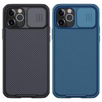"Карбоновая накладка Nillkin CamShield Pro Magnetic для Apple iPhone 12 Pro / 12 (6.1"")"