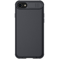 Карбоновая накладка Nillkin Camshield (шторка на камеру) для Apple iPhone 7 (4.7'')