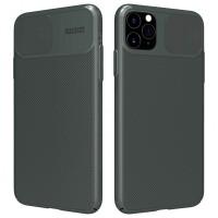 """Карбонова накладка Nillkin Camshield (зі шторкою для камери) для Apple iPhone 11 Pro Max (6.5"""")"""
