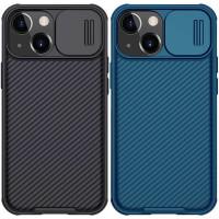 "Карбоновая накладка Nillkin Camshield (шторка на камеру) для Apple iPhone 13 mini (5.4"")"