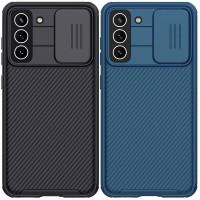 Карбоновая накладка Nillkin Camshield (шторка на камеру) для Samsung Galaxy S21 FE