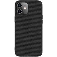 "Карбоновая накладка Nillkin Synthetic Fiber series для Apple iPhone 12 mini (5.4"")"