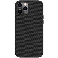 "Карбоновая накладка Nillkin Synthetic Fiber series для Apple iPhone 12 Pro / 12 (6.1"")"