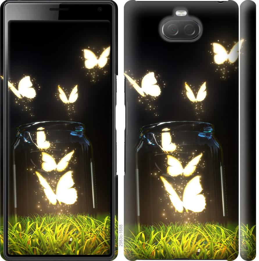 Чехол на Sony Xperia 10 I4113 Бабочки