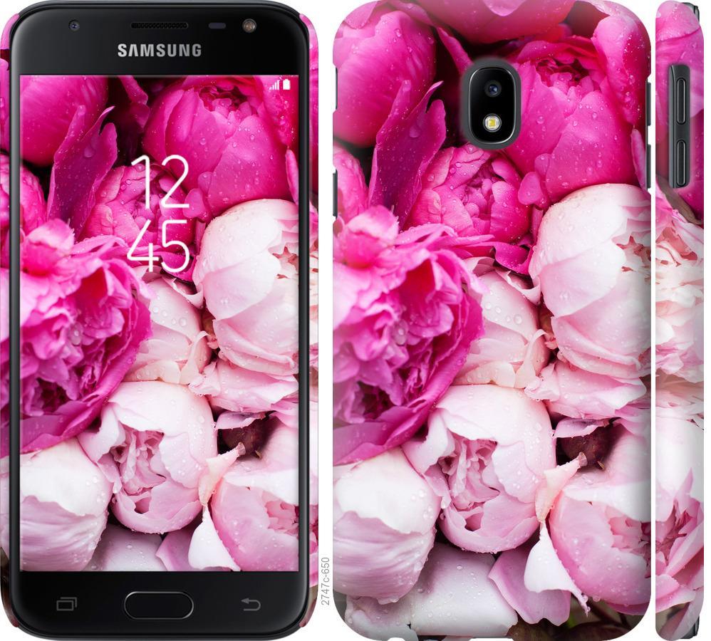 Чохол на Samsung Galaxy J3 (2017) Рожеві півонії