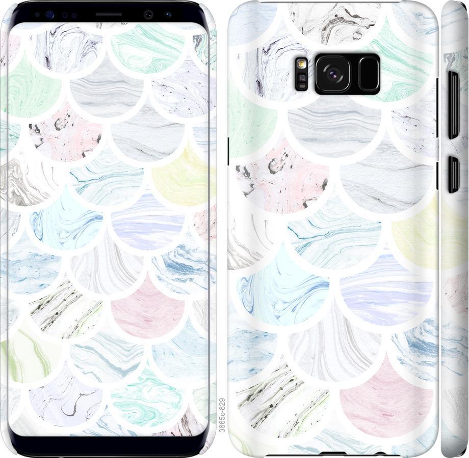 Чехол на Samsung Galaxy S8 Мрамор 4