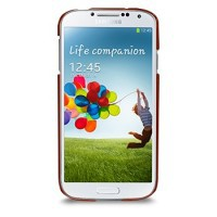 Фото Кожаная накладка TETDED Wild Series для Samsung i9500 Galaxy S4 Red Duo Croc на itsell.ua