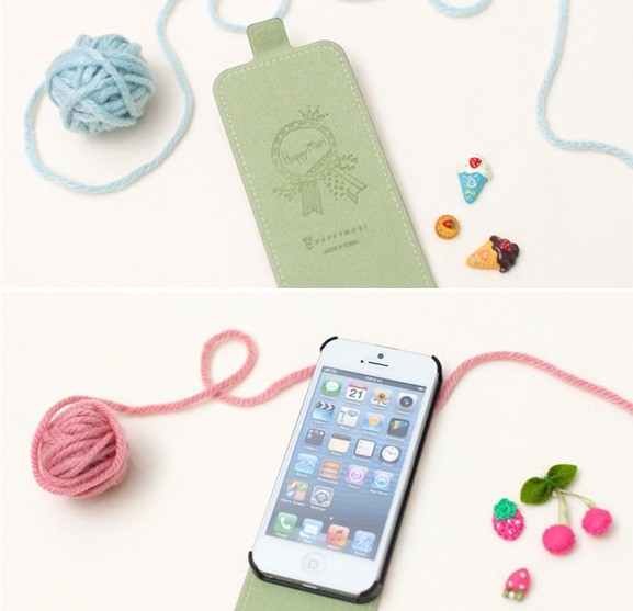 Фото Кожаный чехол Happymori Dalgona Friends Series для Apple iPhone 5/5S на itsell.ua