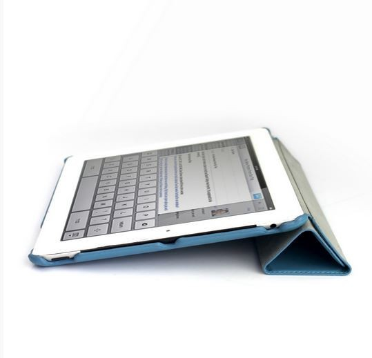 Фото Чехол (книжка) Jison Ultrathin для Apple IPAD 2/3/4 Голубой на itsell.ua