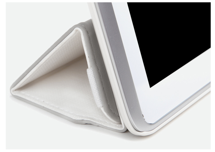 Фото Кожаный чехол ROCK Flexible series для Samsung Galaxy Note 10.1 N8000 Белый / White на itsell.ua