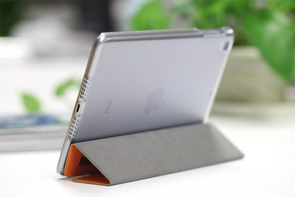 Фото Чехол (книжка) Rock Elegant Series для Apple IPAD mini (RETINA)/Apple IPAD mini 3 Оранжевый / Orange на itsell.ua