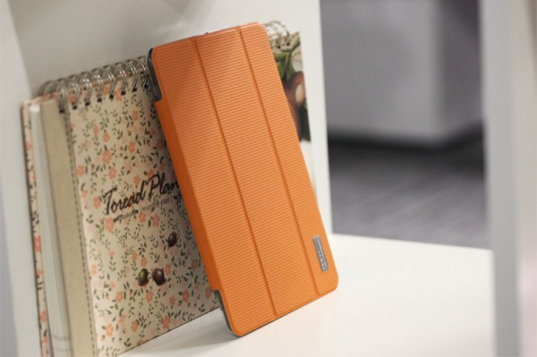 Фото Чехол (книжка) Rock Elegant Series для Apple IPAD mini (RETINA)/Apple IPAD mini 3 Оранжевый / Orange в магазине itsell.ua