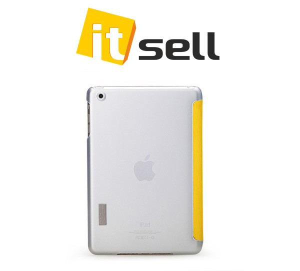 Фото Чехол (книжка) Rock Elegant Series для Apple IPAD mini Желтый / Yellow на itsell.ua