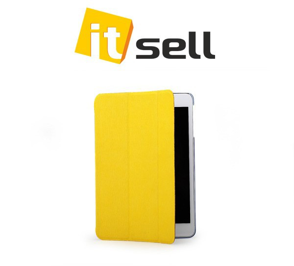 Чехол (книжка) Rock Elegant Series для Apple IPAD mini Желтый / Yellow в магазине itsell.ua