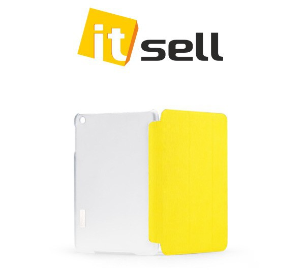Чехол (книжка) Rock Elegant Series для Apple IPAD mini Желтый / Yellow на itsell.ua