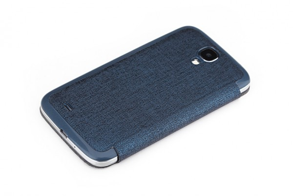 Крышка-книжка Rock Magic Window Series для Samsung i9500 Galaxy S4 Синий / Dark Blue в магазине itsell.ua
