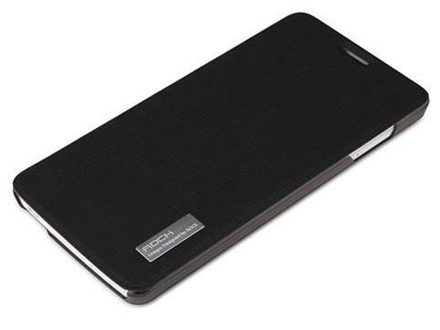 Фото Чехол (книжка) Rock Elegant Series для Apple iPhone 5/5S/SE Черный / Black в магазине itsell.ua