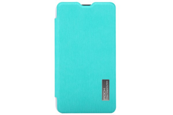 Фото Чехол (книжка) Rock Elegant Series для Microsoft Lumia 625 Бирюзовый / Azure на itsell.ua