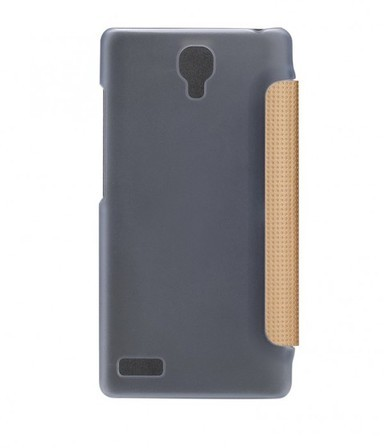Фото Чехол (книжка) Rock Elegant Series для Xiaomi Redmi Note Золотой / Gold в магазине itsell.ua
