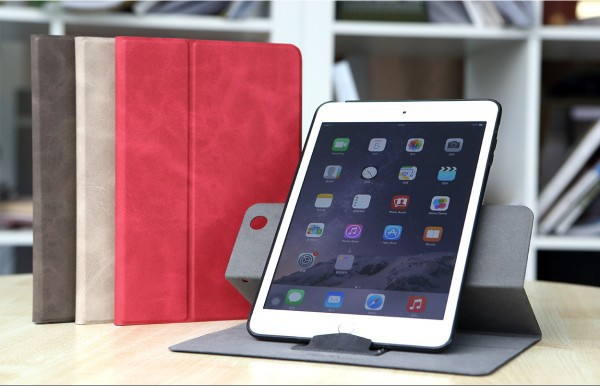 Купить Кожаный чехол (книжка) ROCK Rotate Series Ver.2 для Apple IPAD mini (RETINA)/Apple IPAD mini 3 за 615 грн