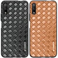 Кожаная накладка VORSON Braided leather series для Huawei P Smart Pro