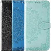 Кожаный чехол (книжка) Art Case с визитницей для Oppo A54 4G