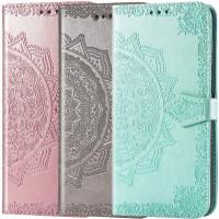 Кожаный чехол (книжка) Art Case с визитницей для Xiaomi Poco M3