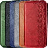 Кожаный чехол книжка GETMAN Cubic (PU) для Samsung Galaxy A52 4G / A52 5G