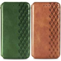 Кожаный чехол книжка GETMAN Cubic (PU) для Samsung Galaxy A72 4G