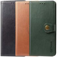 Кожаный чехол книжка GETMAN Gallant (PU) для Oppo A73