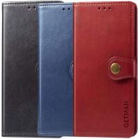 Кожаный чехол книжка GETMAN Gallant (PU) для Samsung Galaxy A02s / M02s
