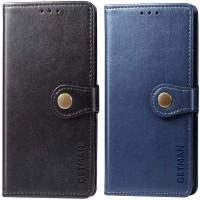 Кожаный чехол книжка GETMAN Gallant (PU) для Samsung Galaxy A03s
