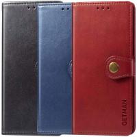 Кожаный чехол книжка GETMAN Gallant (PU) для Samsung Galaxy S20 FE